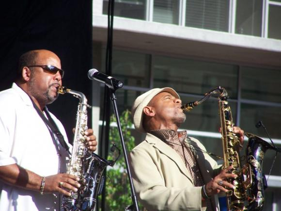 Gerald Albright & Kirk Whalum at Belk Theater