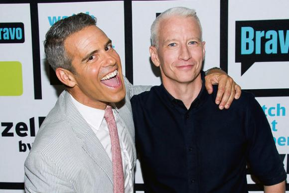 Anderson Cooper & Andy Cohen at Belk Theater