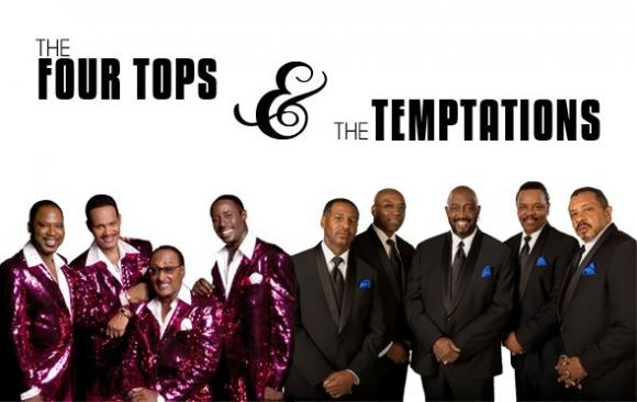 The Temptations & The Four Tops at Belk Theater