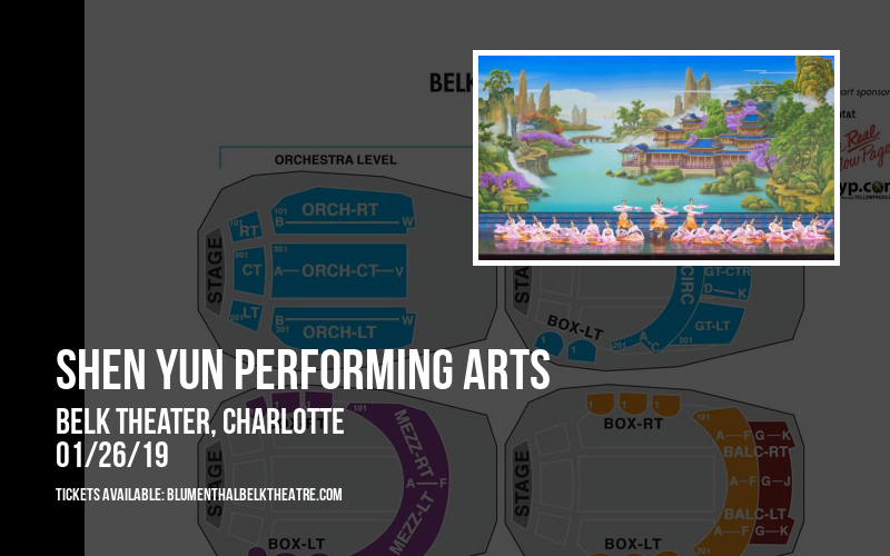 Shen Yun Performing Arts at Belk Theater
