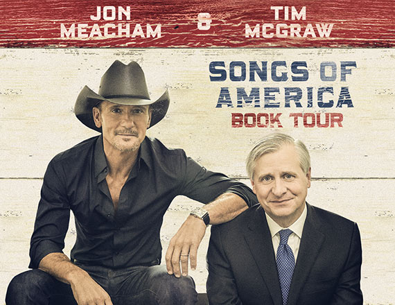 Tim McGraw & Jon Meacham at Belk Theater