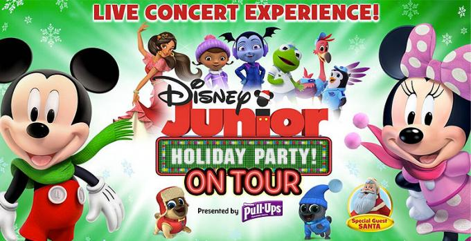 Disney Junior Holiday Party! at Belk Theater