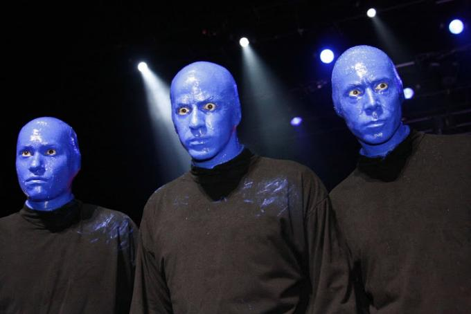 Blue Man Group at Belk Theater