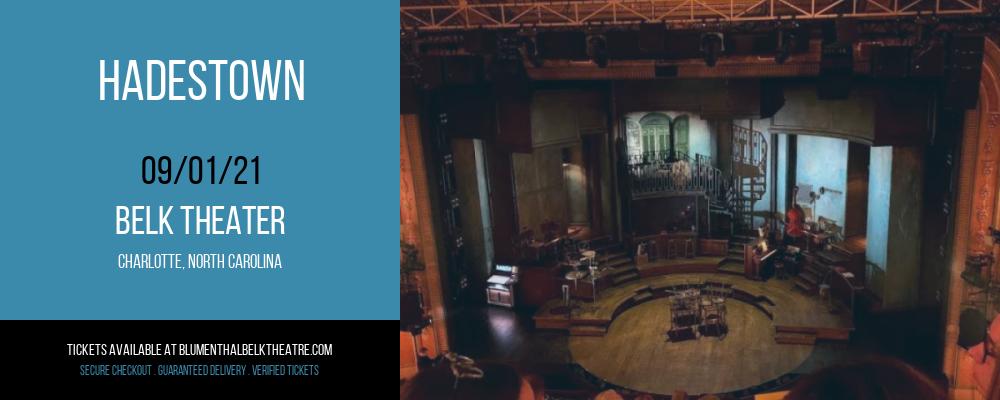 Hadestown at Belk Theater
