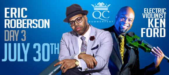 Eric Roberson & Ken Ford at Belk Theater