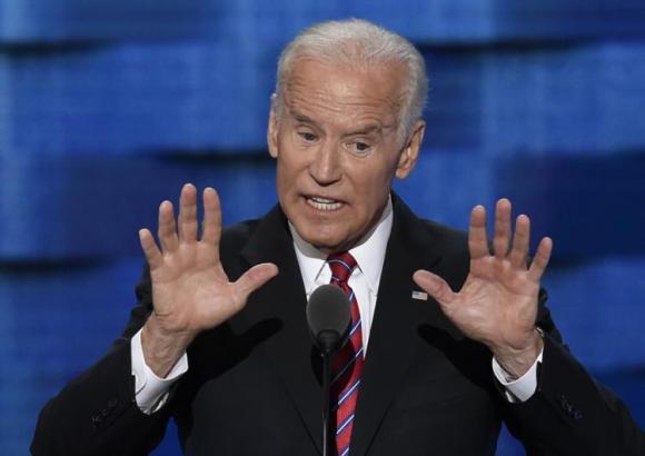 Joe Biden at Belk Theater