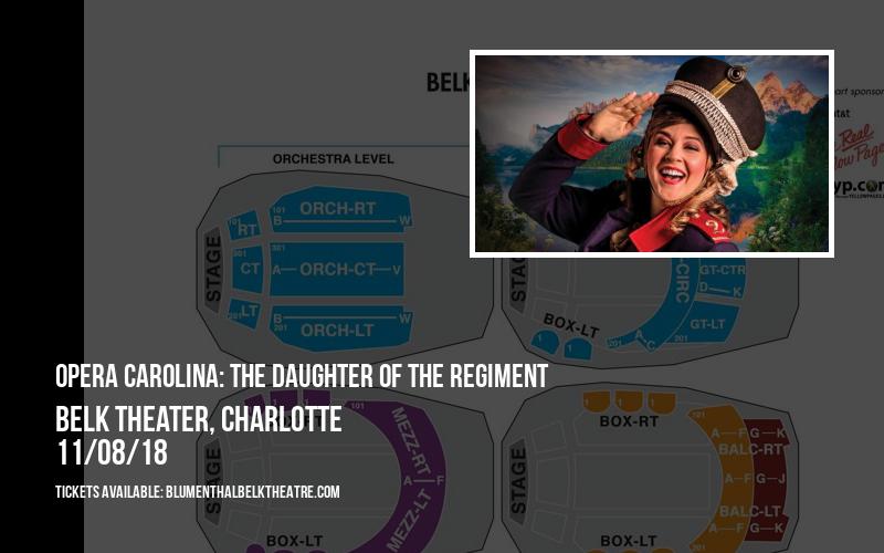 Opera Carolina: The Daughter Of The Regiment at Belk Theater