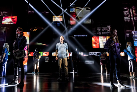 Dear Evan Hansen at Belk Theater