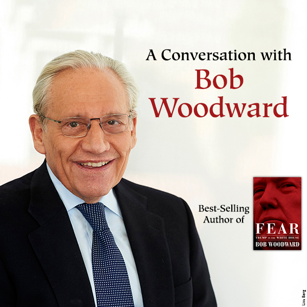 A Conversation with Bob Woodward at Belk Theater