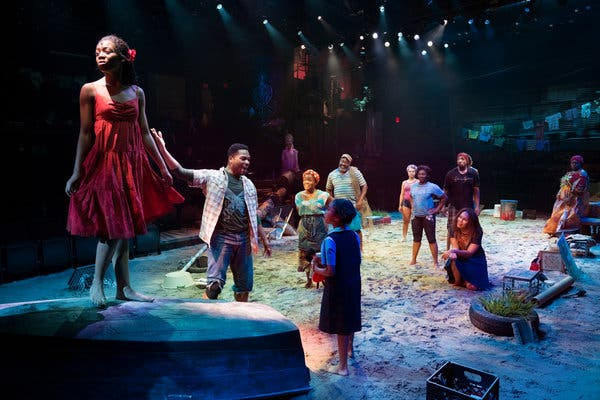 Once On This Island at Belk Theater