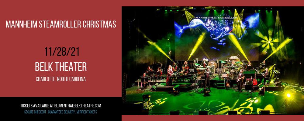 Mannheim Steamroller Christmas at Belk Theater