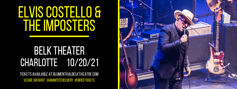 Elvis Costello & The Imposters at Belk Theater