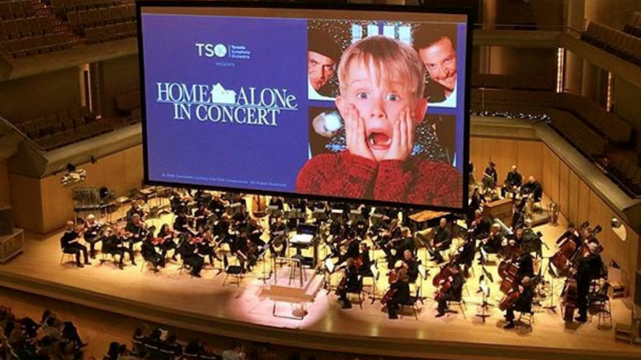 Charlotte Symphony: Home Alone in Concert at Belk Theater